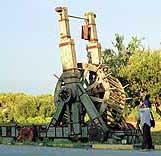 Артиллерия античных времен - метательная машина