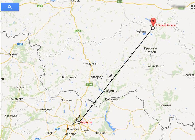Россия перебрасывает танки и технику к границе с Харьковом (фото, карта), фото-1