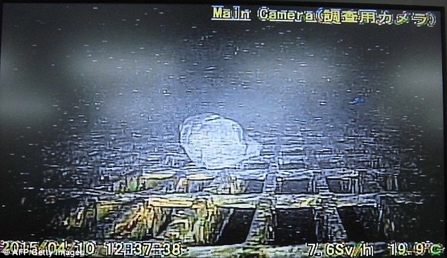 Кадры из АЭС Фукусима-1