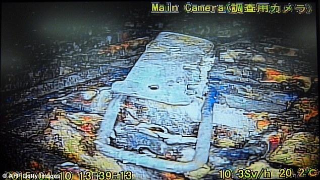 Кадры из реактора АЭС Фукусима-1