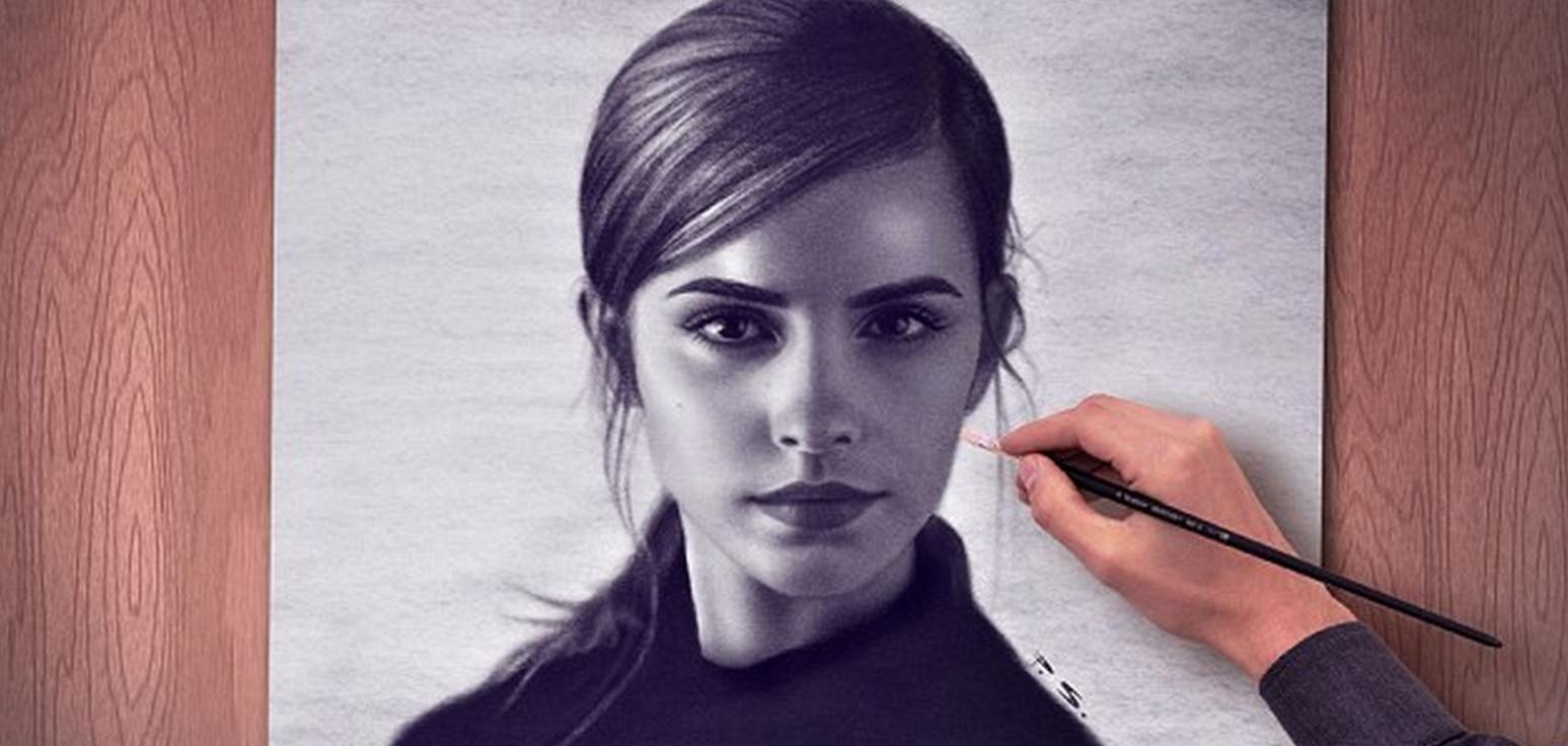 Видеоклип в котором рисуют