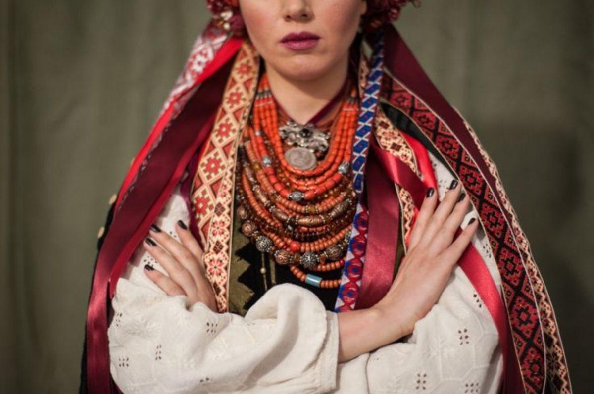 Украинские вышивки история
