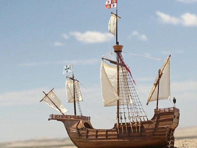 ВАфрике среди пустыни отыскали корабль сзолотом