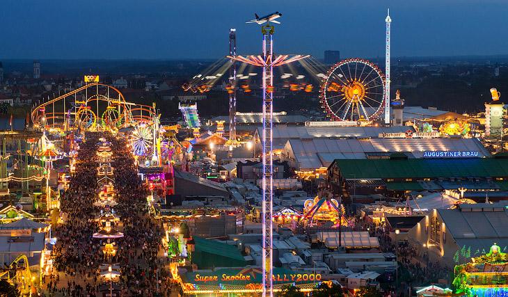 ВМюнхене открылся пивной фестиваль Октоберфест