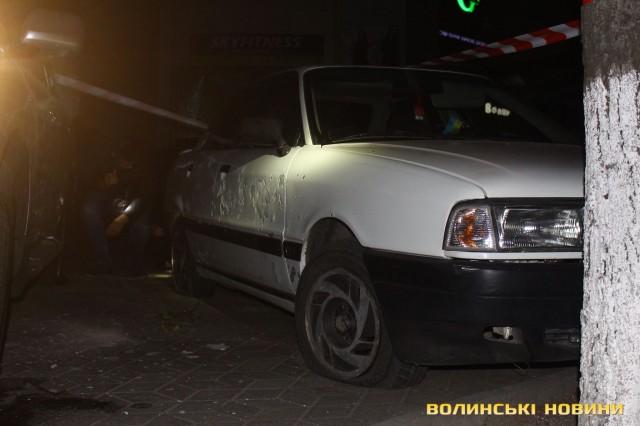 ВЛуцке около ночного клуба произошел взрыв