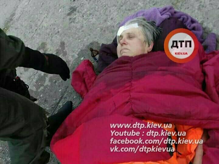ВКиеве женщина-самоубийца прыгнула смоста