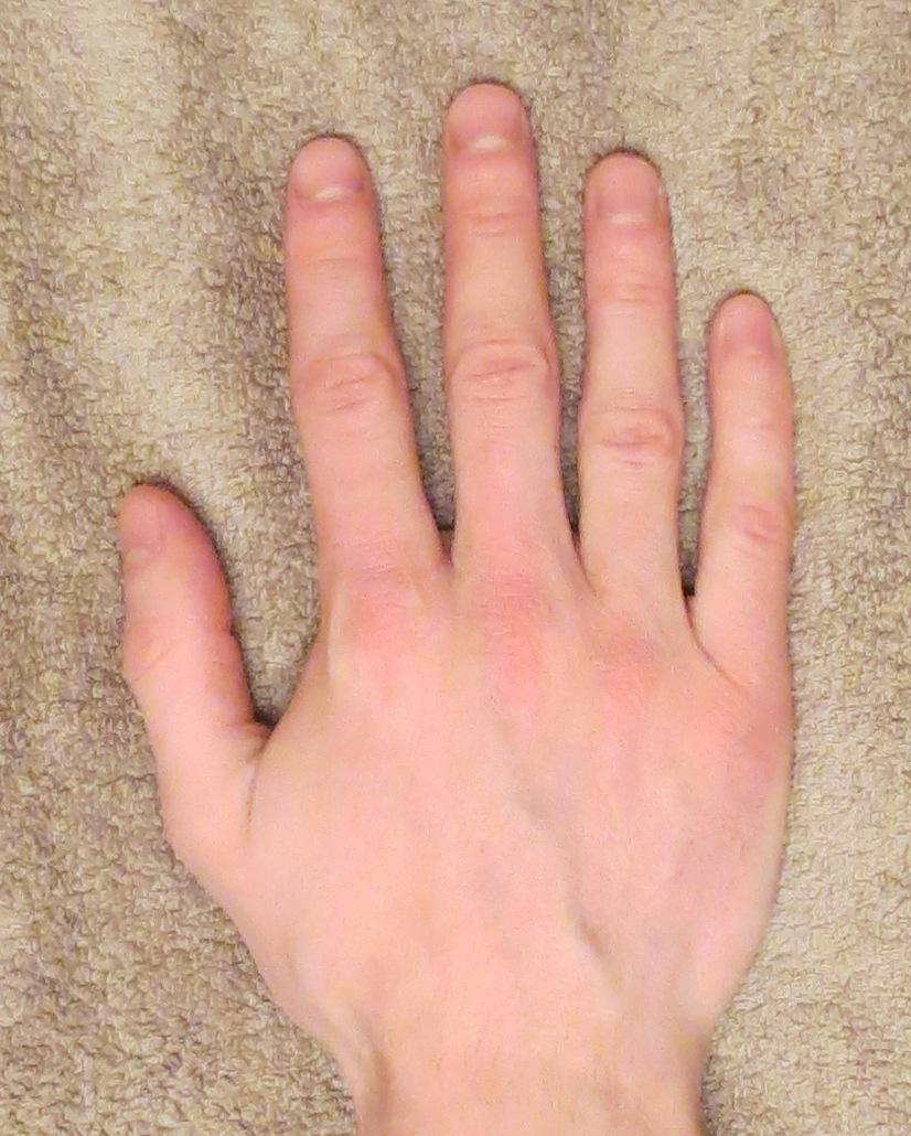 Длинные пальцы длинный член