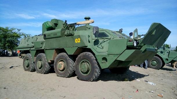 Индонезийские морские пехотинцы испытали украинский бронетранспортер-амфибию