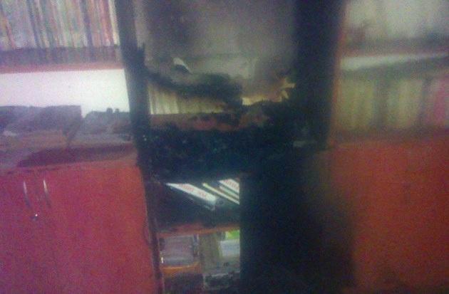 НаЛьвовщине пьяные воспитанники устроили пожар вшколе