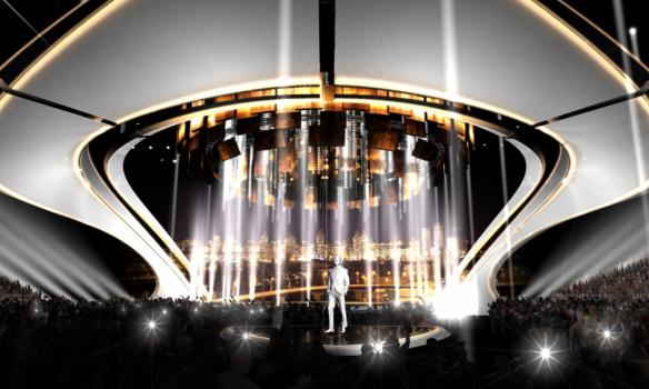Стало известно, какой будет сцена для Евровидения