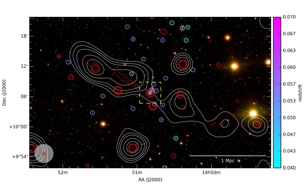 Астрофизики открыли огромную радиогалактику-убийцу