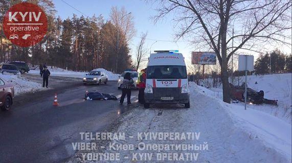 Смертоносная авария вКиеве: погибла 18-летняя девушка