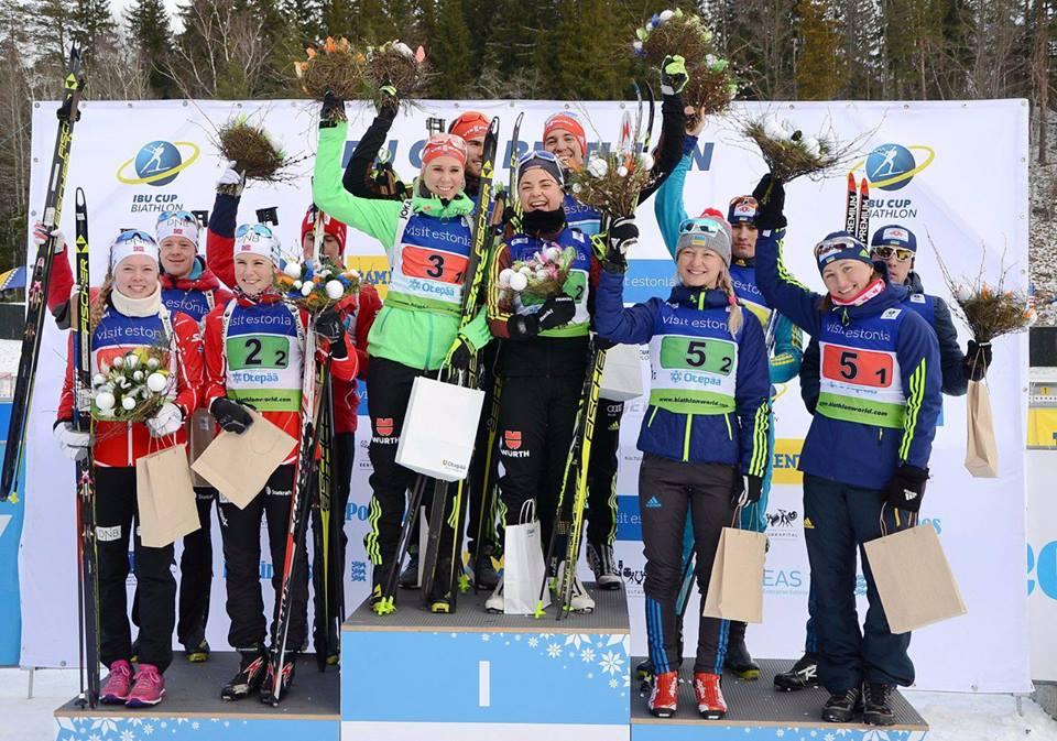 Вита Семеренко возвращается вбольшой биатлон