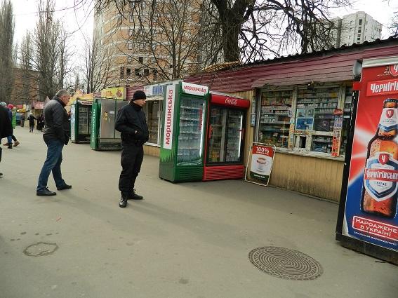 Около Соломенского рынка столицы Украины произошла стрельба
