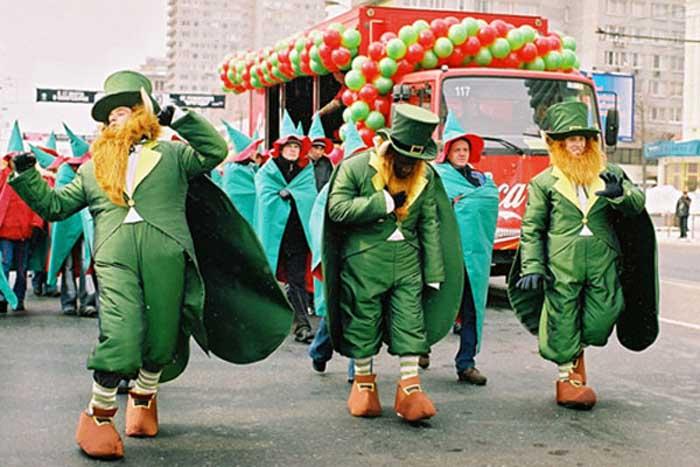 ВИрландии празднуют День святого Патрика