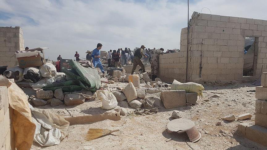 Войска Асада нанесли удар полагерю беженцев, необошлось без жертв