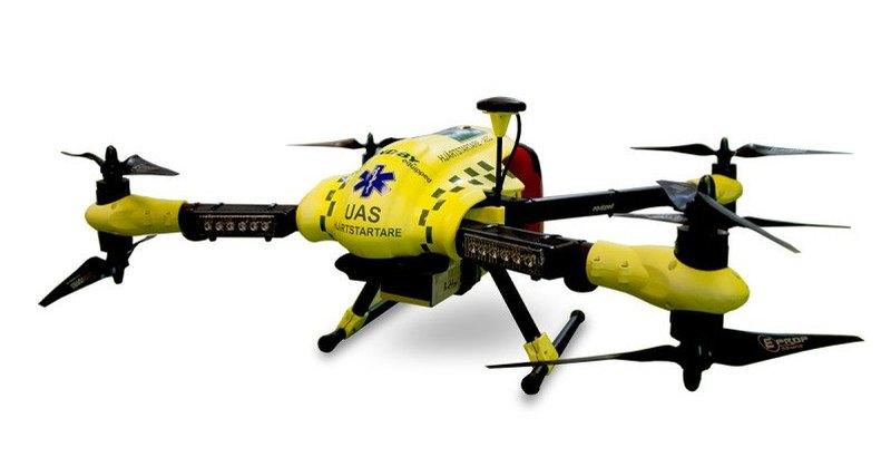 ВШвеции ученые разработали дрон-дефибриллятор