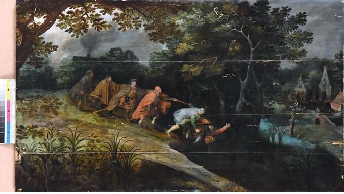 ВОдесском музее копия легендарной картины Брейгеля оказалась оригиналом