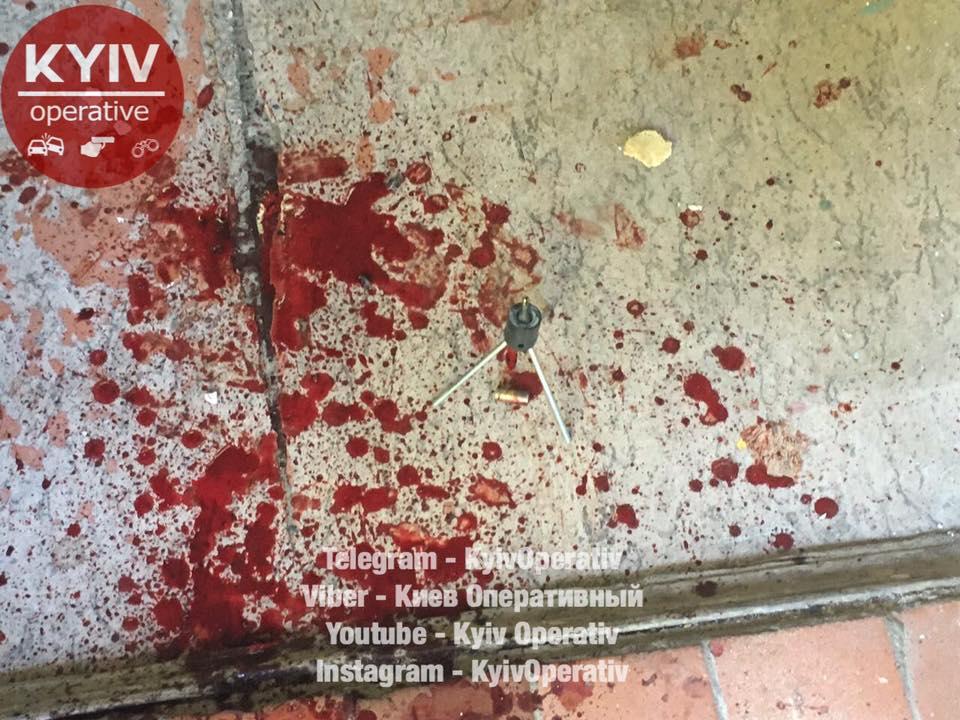 Вкиевском ЖЭКе расстреляли мужчину