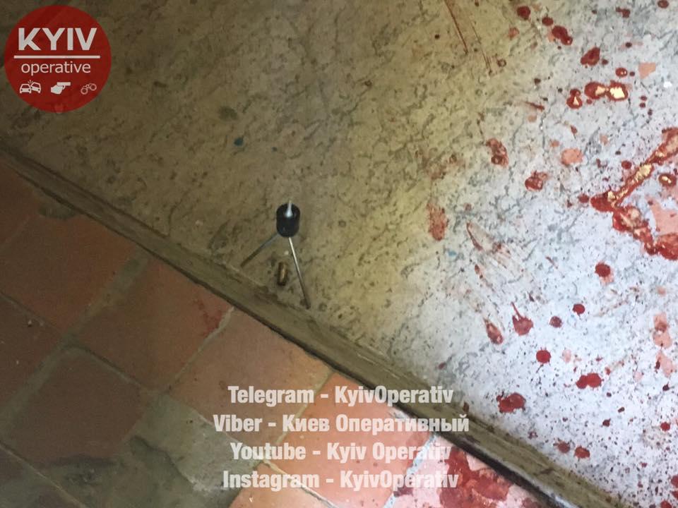 Стреляли вголову: вКиеве случилось ограбление накрупную сумму денежных средств