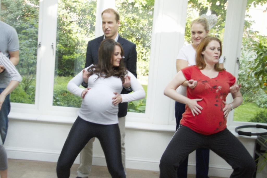 Принц уильям и кейт миддлтон последние фото с ребенком