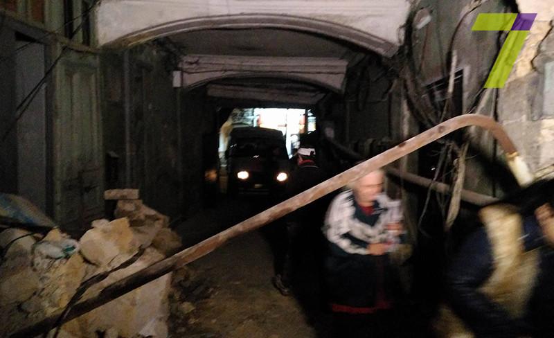 Стена многоквартирного дома обрушилась вОдессе