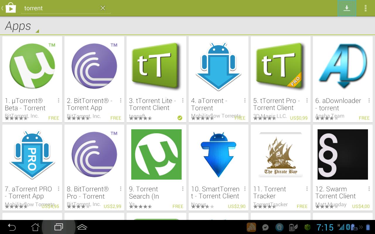 Скачать бесплатную торрент программу utorrent на русском языке.