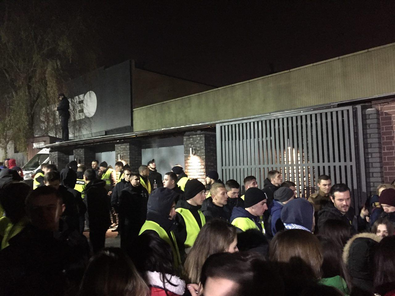 ВКиеве вдень выступления Hurts заминировали клуб Stereo Plaza