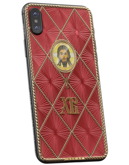 Caviar запускает пасхальный iPhone XФаберже с отцом Римским иХристом