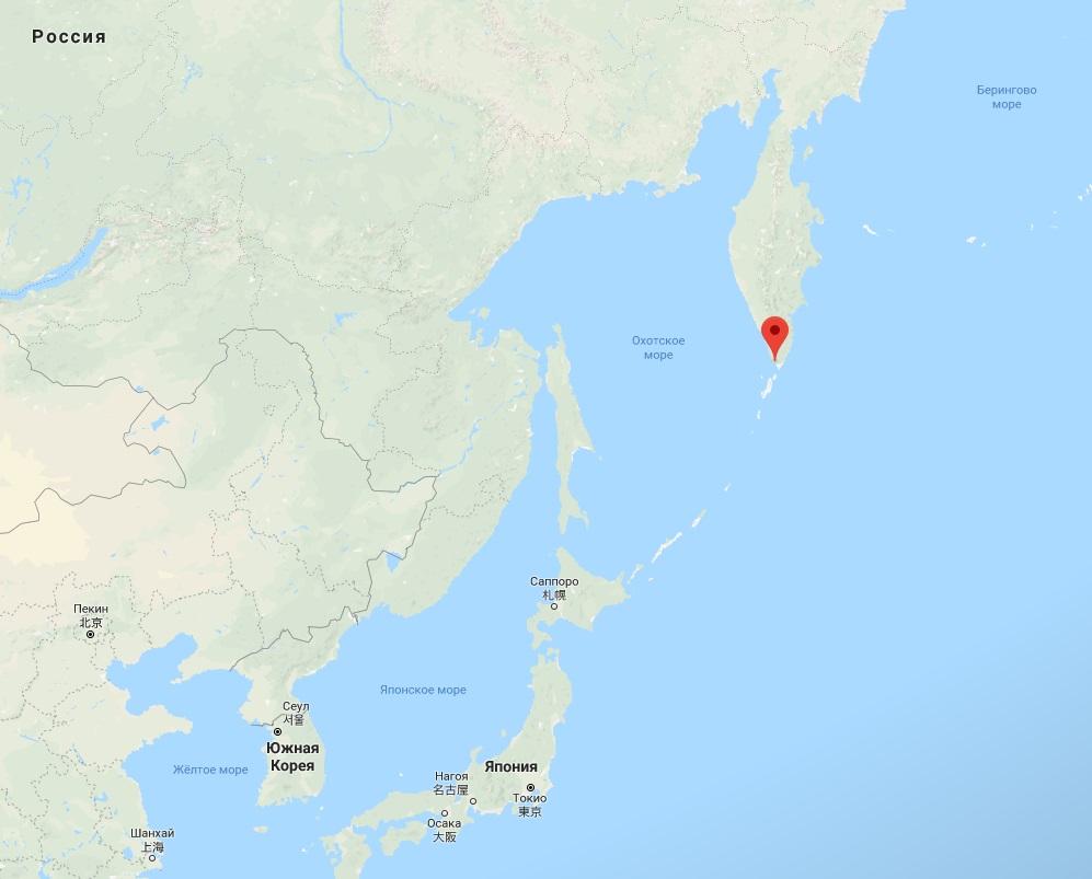 Уберегов Камчатки затонуло частное судно