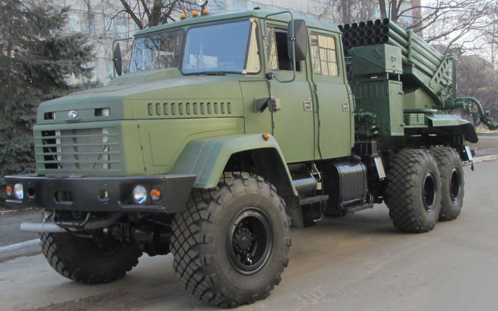 Украина начинает производство РСЗО «Верба»