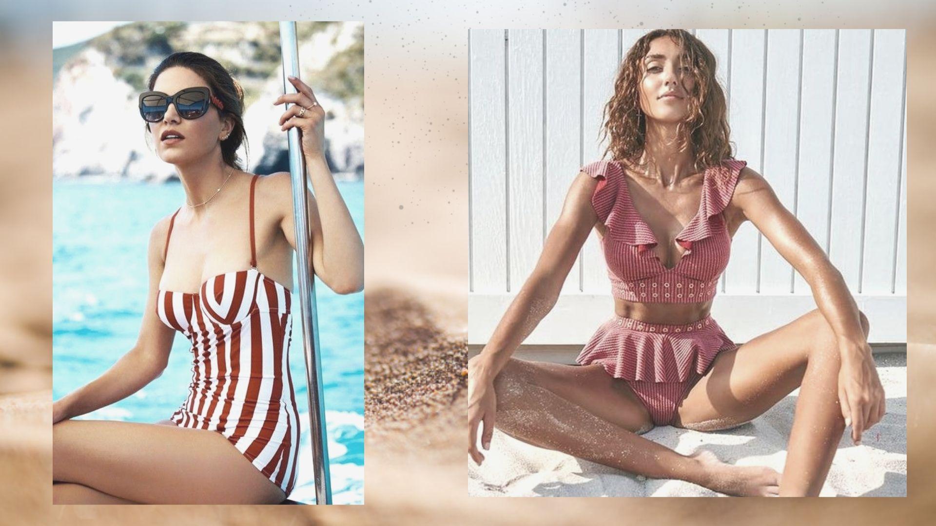 da92a47314878 Они до сих пор являются одними из трендовых и не стандартных решений на  пляже. Это самый женственный и необычный тренд в рамках пляжной моды.