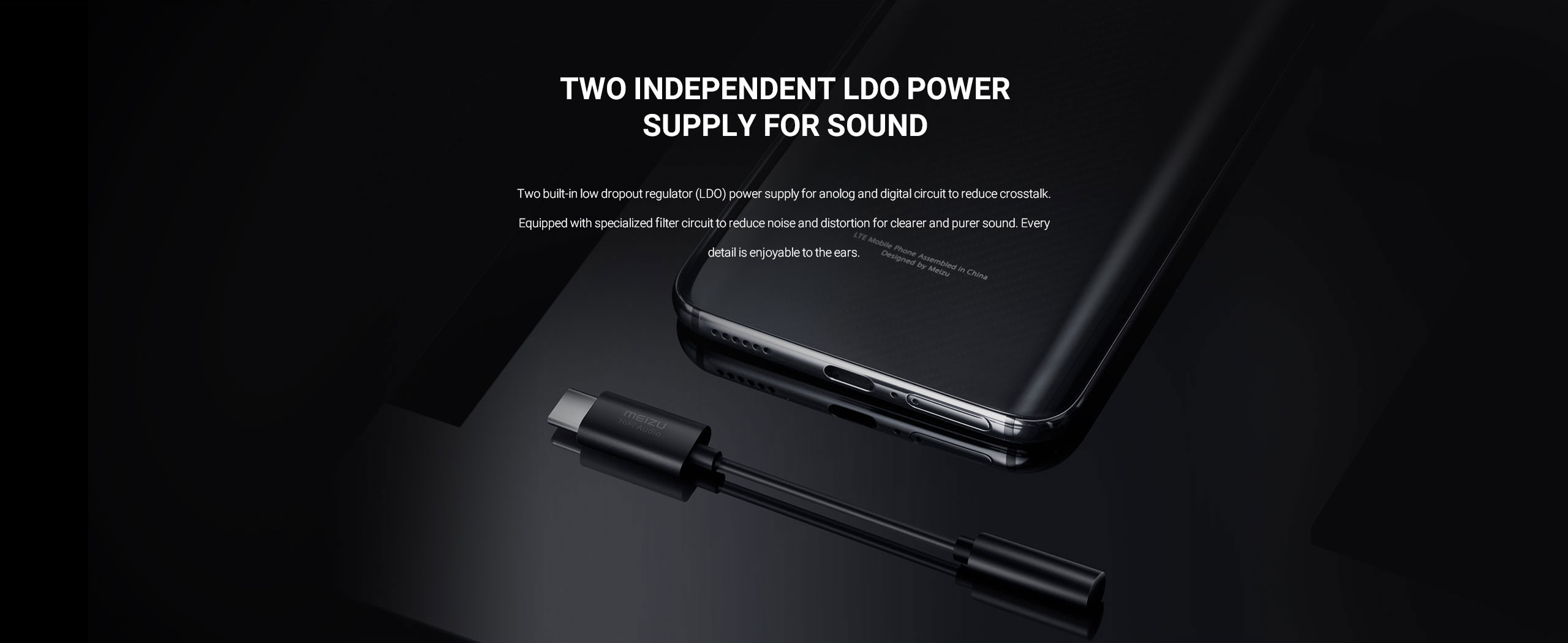 Meizu HiFi DAC Headphone Adapte