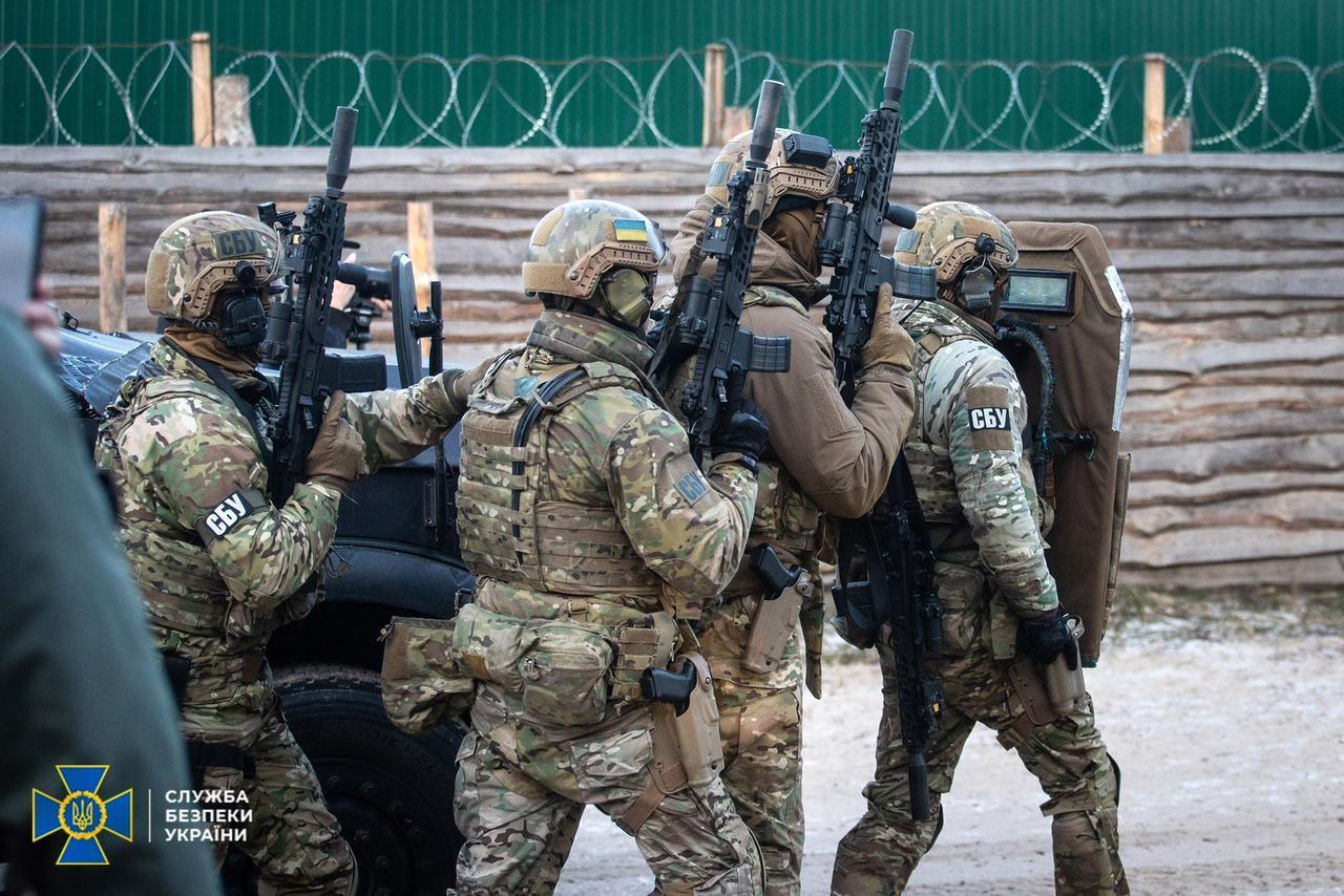 Служба безопасности Украины разоблачила и пресекла деятельность частной военной компании