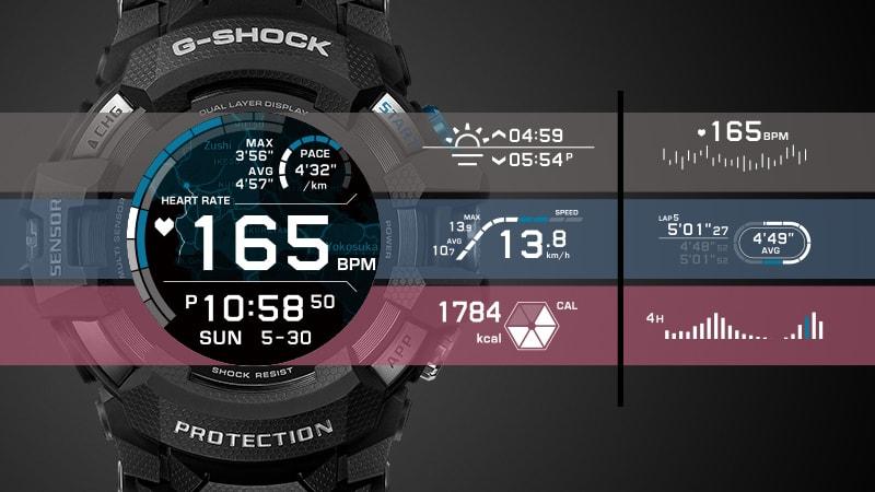 Японская компания Casio Computer представила новую модель умных часов GSW-H1000