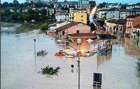 Наводнение в Италии. Фото Instagram