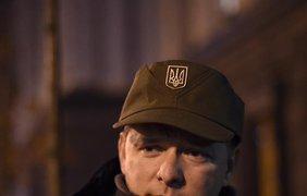 Ляшко провел ночь под Кабмином. Фото: facebook.com/Andriy.Lozovyi