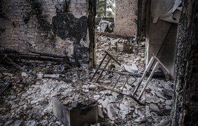 Пески разрушены войной и разграблены. Фото Майя Михалюк