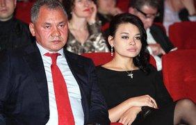 Сергей Шойга со своей дочерью Ксенией. Фото alburov.ru