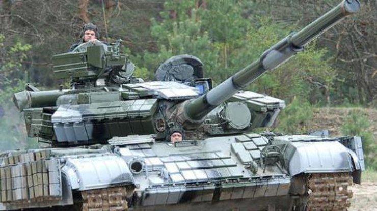 Ввоинской части под Днепропетровском взорвался танк