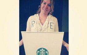 Девушка пошутила по поводу работы в Starbucks
