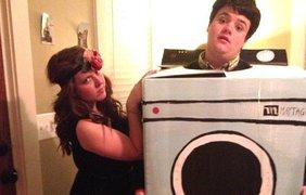 Florence and the Machine, стиральная машинка. Небольшая пародия на название известной группы
