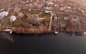Участок Порошенко в Козине под Киевом