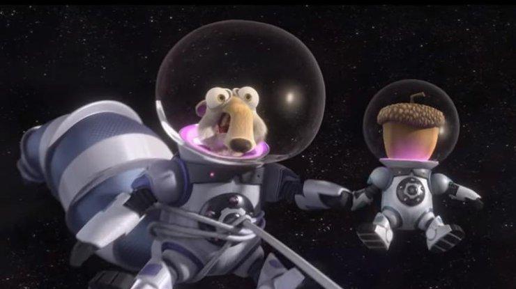Белка из ледникового периода космос прохождение игр губка боб финал