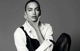 Ирина Шейк снялась для Harper's Bazaar