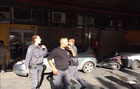 В Израиле совершили вооруженное нападение на офис российского телеканала. Twitter/PaulaSlier_RT