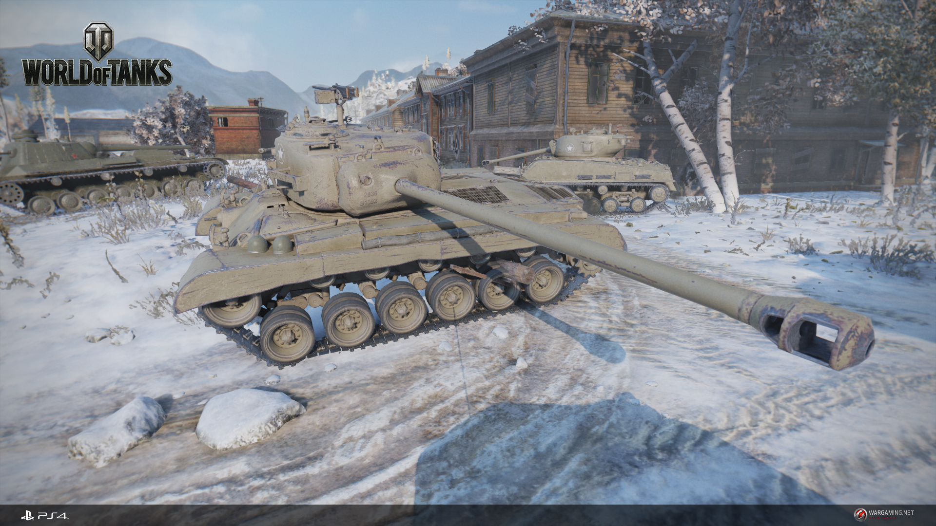world of tanks на playstation 4