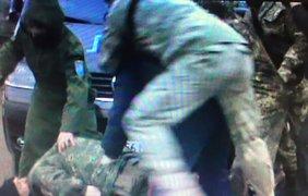 Драка активистов с полицией. Фото: facebook.com/kivailya