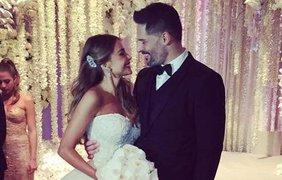 София Вергара и Джо Манганьелло поженились в Майами