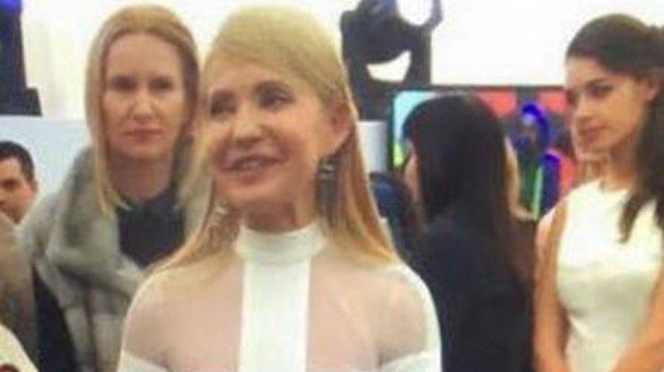 Тимошенко  на 55 летие